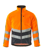 15503-259-14010 Fleece jas - hi-vis oranje/donkermarine