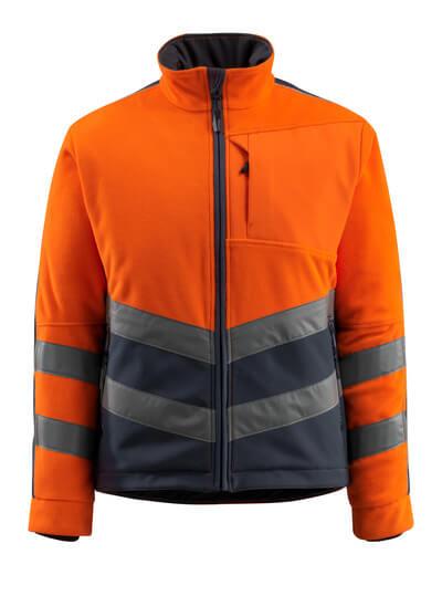 15503-259-14010 Veste polaire - Hi-vis orange/Marine foncé