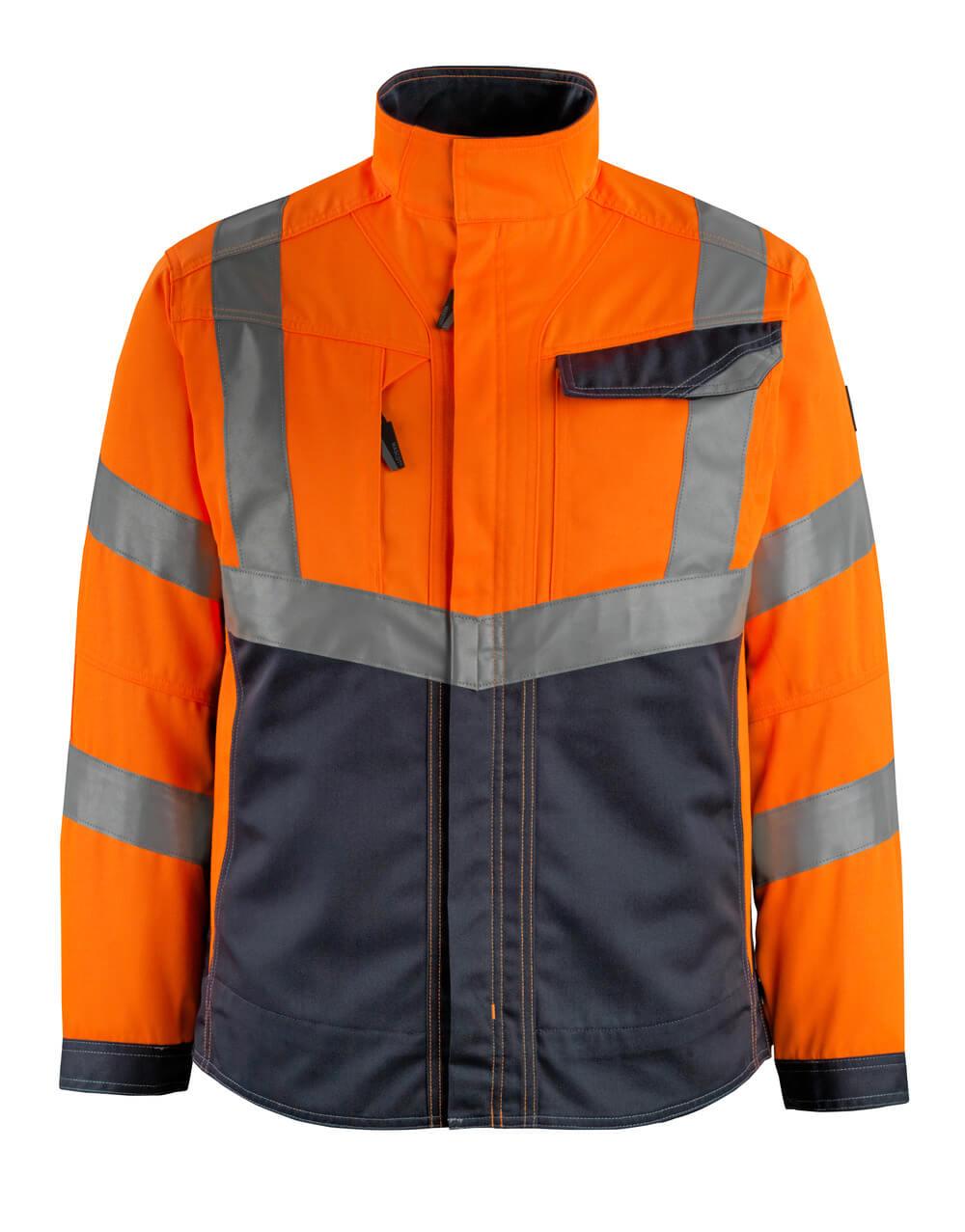 15509-860-14010 Jack - hi-vis oranje/donkermarine