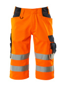 15549-860-14010 Short long - Hi-vis orange/Marine foncé