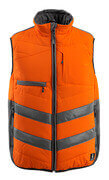 15565-249-1418 Gilet grand froid - Hi-vis orange/Anthracite foncé