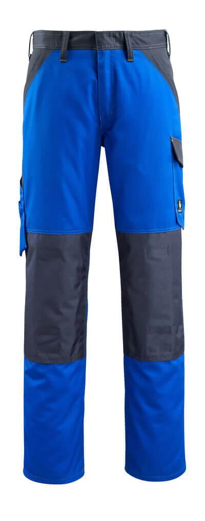 15779-330-11010 Broek met kniezakken - korenblauw/donkermarine