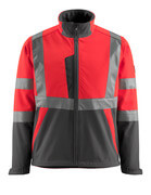 15902-253-1418 Veste softshell - Hi-vis orange/Anthracite foncé