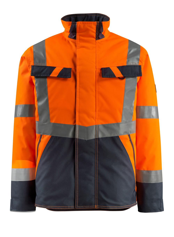 15935-126-14010 Winterjack - hi-vis oranje/donkermarine