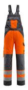 15969-948-1418 Amerikaanse overall met kniezakken - hi-vis oranje/donkerantraciet