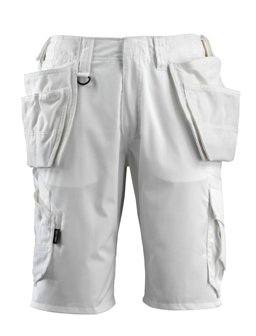 16049-230-06 Shorts met spijkerzakken - wit
