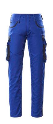 16279-230-11010 Pantalon avec poches cuisse - Bleu roi/Marine foncé