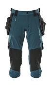 17049-311-09 Pantacourt avec poches flottantes - Noir