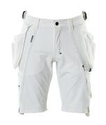 17149-311-06 Shorts met spijkerzakken - wit