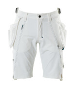 17149-311-06 Short avec poches flottantes - Blanc