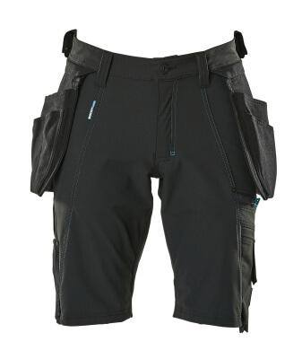 17149-311-09 Short avec poches flottantes - Noir