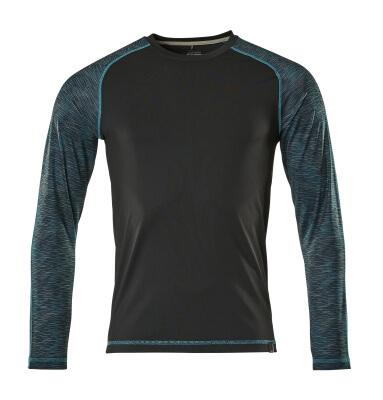 17281-944-09 T-shirt, manches longues - Noir