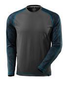 17281-944-18 T-shirt, manches longues - Anthracite foncé