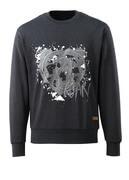 17284-280-73 Sweatshirt - Denim noir