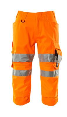 17549-860-14 Pantacourt avec poches gensouillères - Hi-vis orange