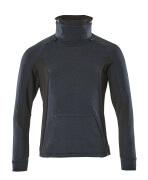 17584-319-01009 Sweatshirt - donkermarine/zwart