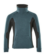 17584-319-4409 Sweatshirt - donkerpetrol/zwart