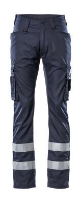 17879-230-010 Pantalon avec poches cuisse - Marine foncé