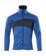 18105-951-91010 Gebreide trui met rits - helder blauw/donkermarine