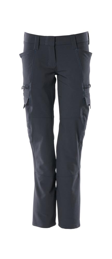 18188-511-010 Pantalon avec poches cuisse - Marine foncé