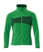 18303-137-33303 Fleecejack - helder groen/groen