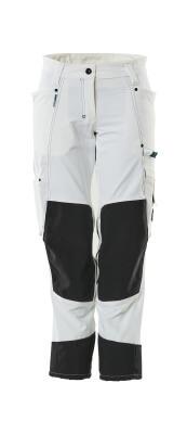 18378-311-06 Pantalon avec poches genouillères - Blanc