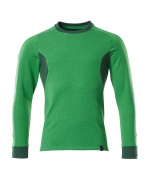18384-962-33303 Sweatshirt - vert gazon/vert bouteille