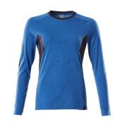 18391-959-01091 T-shirt, manches longues - Marine foncé/Bleu olympien
