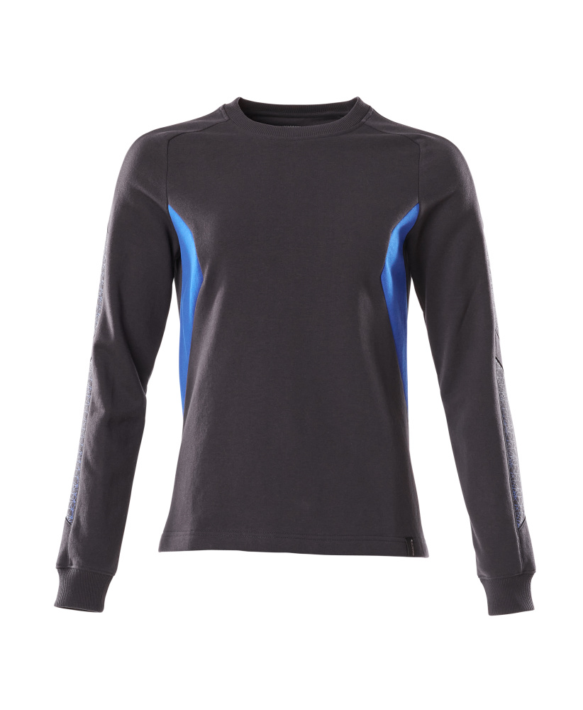 18394-962-01091 Sweatshirt - donkermarine/helder blauw