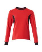 18394-962-20209 Sweatshirt - signaalrood/zwart