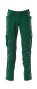 18479-311-03 Broek met kniezakken - groen