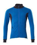 18484-962-91010 Sweatshirt zippé - Bleu olympien/Marine foncé