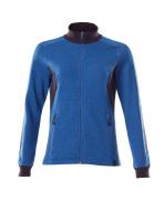 18494-962-01091 Sweatshirt zippé - Marine foncé/Bleu olympien