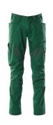 18579-442-03 Pantalon avec poches genouillères - Vert bouteille