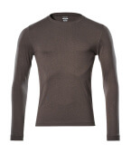 18581-965-18 T-shirt, met lange mouwen - donkerantraciet