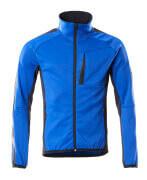 18603-316-11010 Fleecetrui met rits - korenblauw/donkermarine