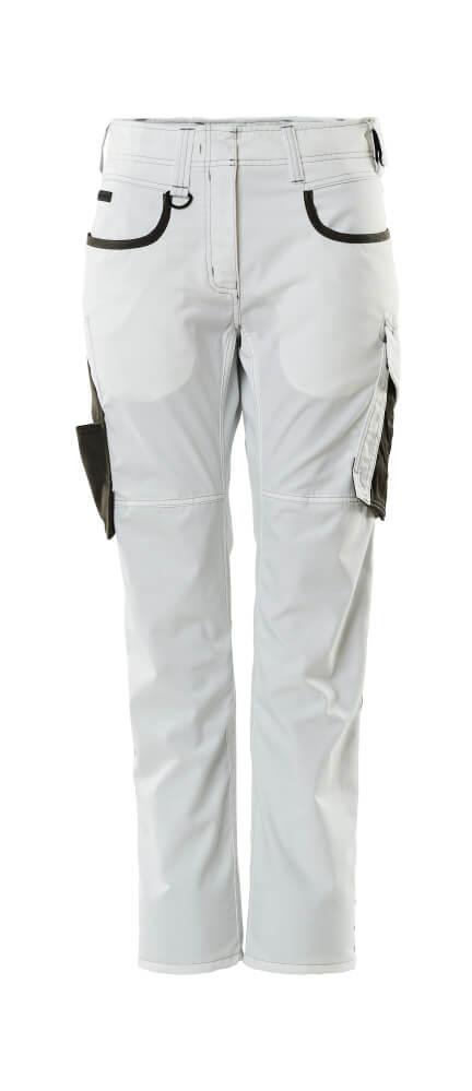 18678-230-0618 Pantalon - Blanc/Anthracite foncé