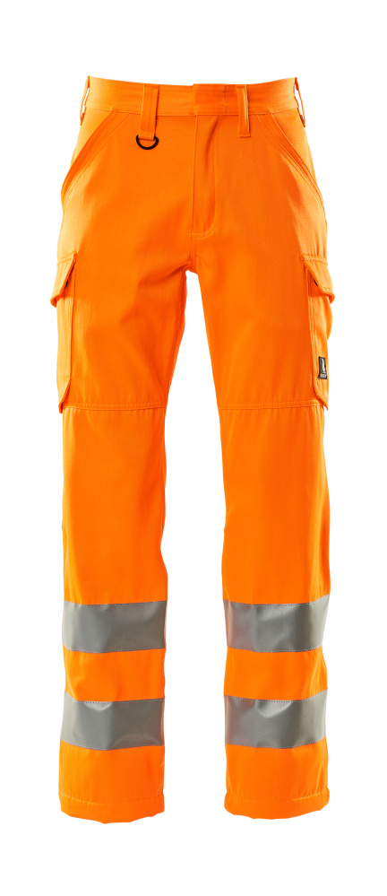 18879-860-14 Broek met dijbeenzakken - hi-vis oranje