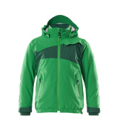 18935-249-33303 Veste grand froid pour enfants - vert gazon/vert bouteille