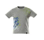 18982-965-08 T-shirts voor kinderen - grijs-melêe