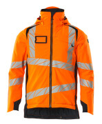 19035-449-14010 Veste grand froid - Hi-vis orange/Marine foncé