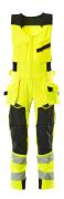 19069-711-1709 Combinaison sans manche - Hi-vis jaune/Noir