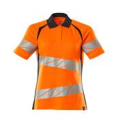 19093-771-14010 Poloshirt - hi-vis oranje/donkermarine