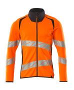 19184-781-14010 Sweatshirt met rits - hi-vis oranje/donkermarine
