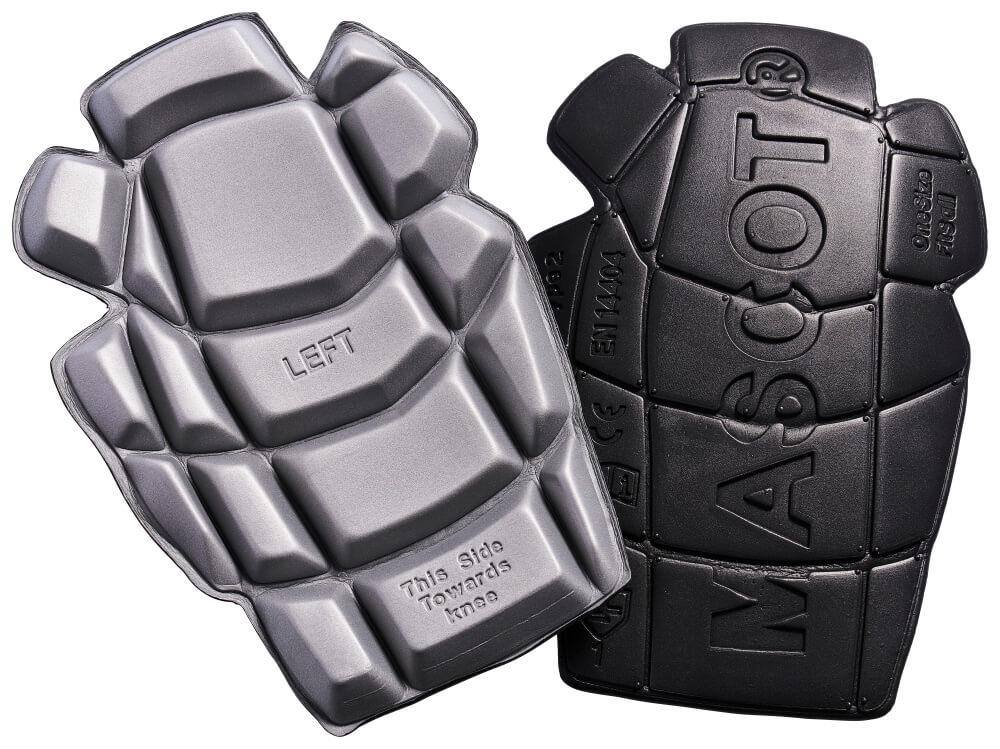 20118-915-0988 Kniebeschermers - zwart/lichtgrijs