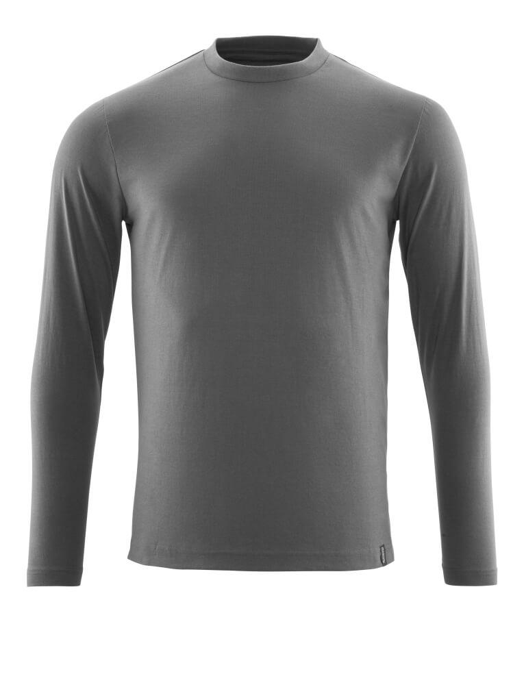 20181-959-18 T-shirt, met lange mouwen - donkerantraciet