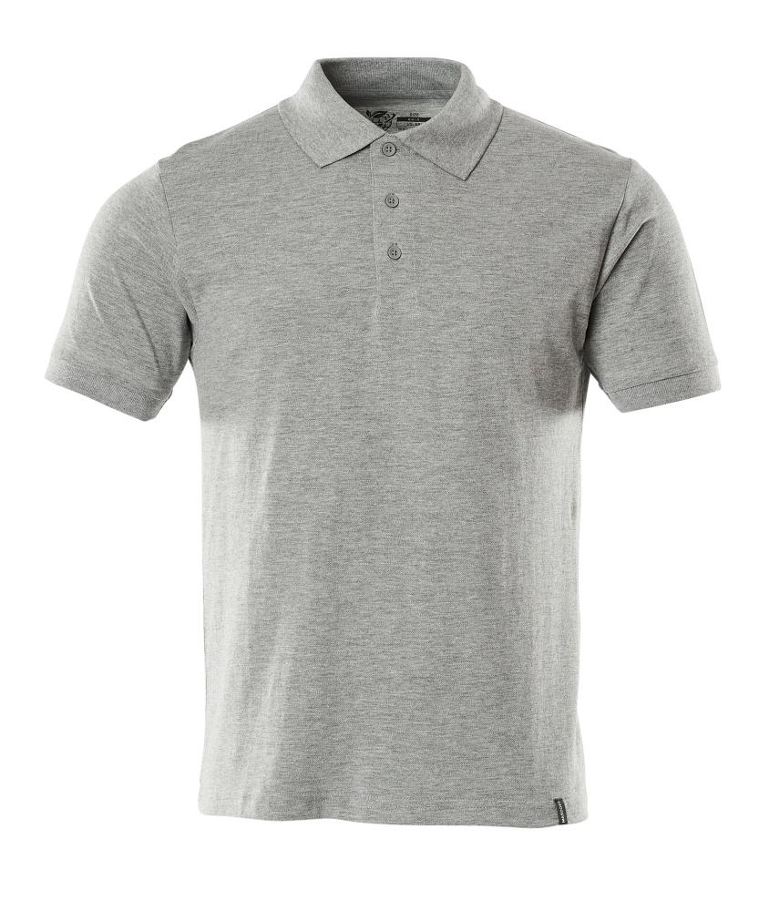 20583-797-08 Poloshirt - grijs-melêe