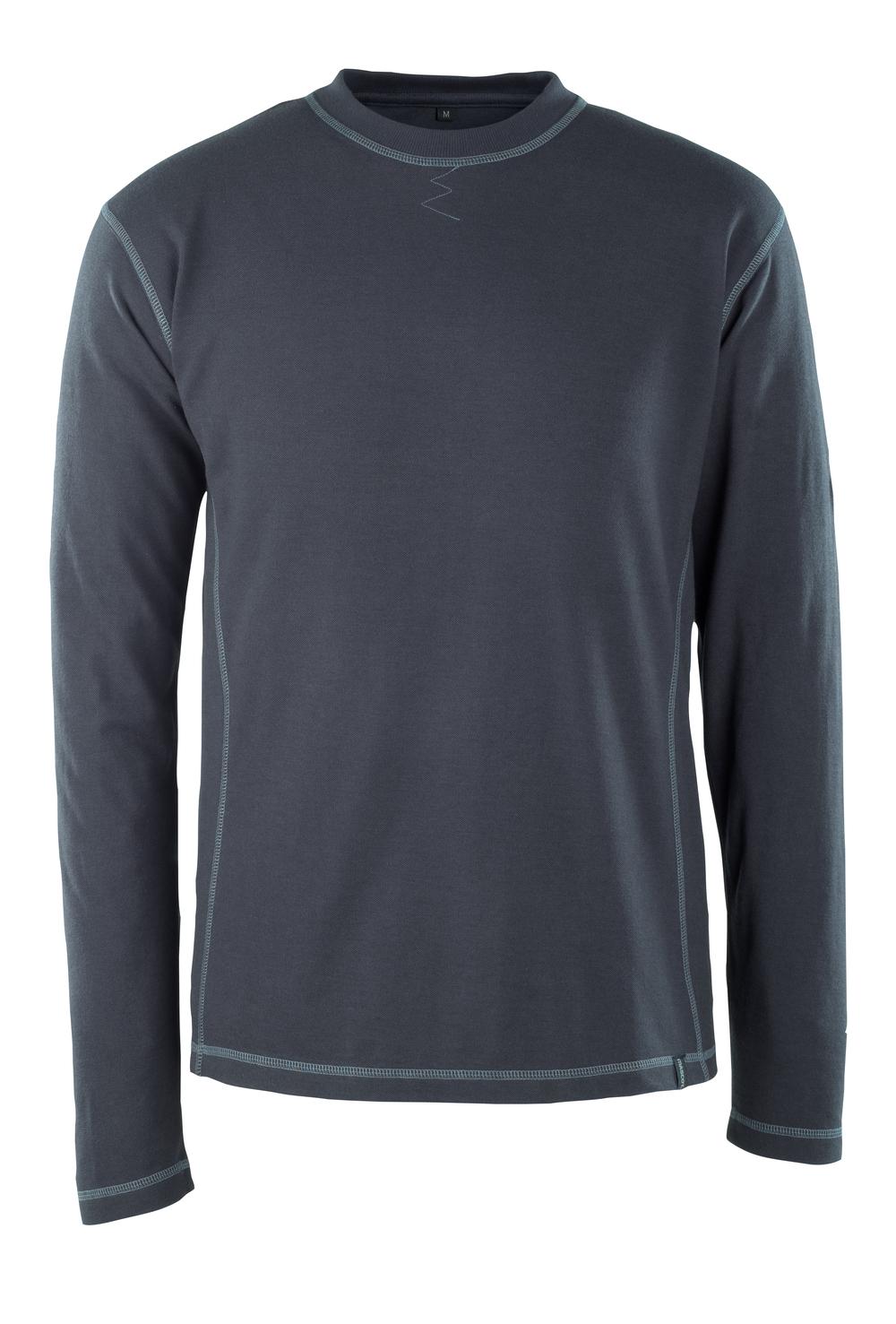 50119-927-010 T-shirt, met lange mouwen - donkermarine