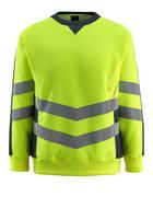 50126-932-17010 Sweatshirt - Hi-vis jaune/Marine foncé