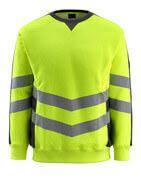 50126-932-1709 Sweatshirt - Hi-vis jaune/Noir